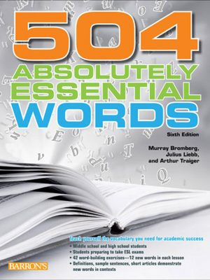 کتاب 504Absolutely Essential Words Sixth Edition