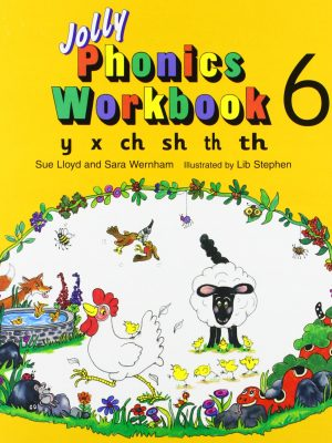 خرید کتاب Jolly-Phonics-6-Workbooks