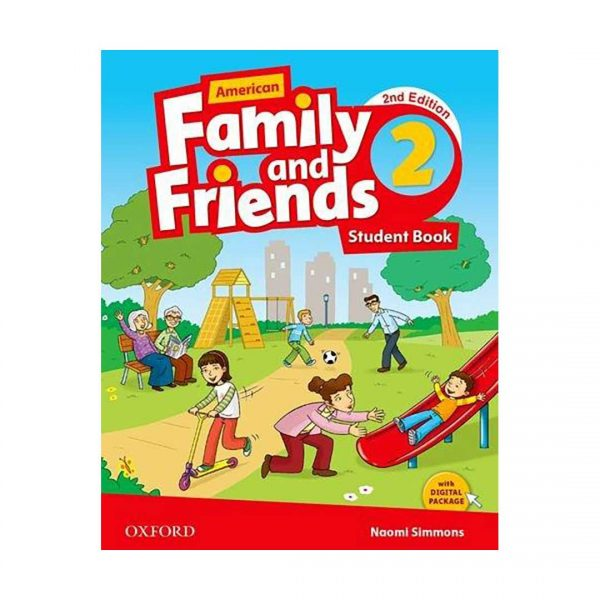 کتاب American-Family-and-Friends-2nd-2-SB-WB-DVD