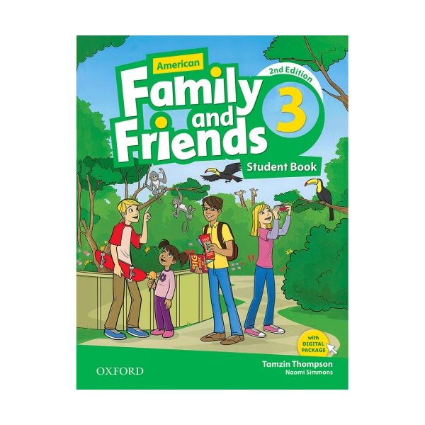 کتاب American-Family-and-Friends-6-Student-Book