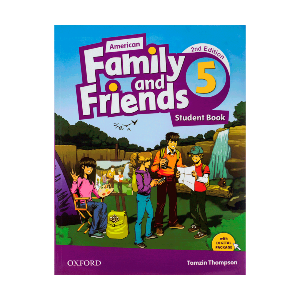 کتاب American-Family-and-Friends-5-2ndS-W-CDDVD