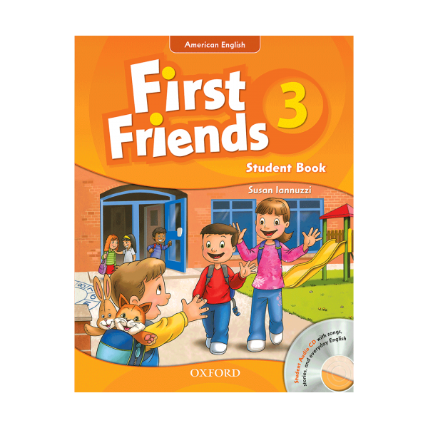 کتاب American First Friends 3 +CD