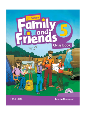 کتاب Family-and-Friends-5-2nd-Edition-Class-Book