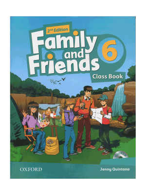 کتاب Family-and-Friends-6-second-edition