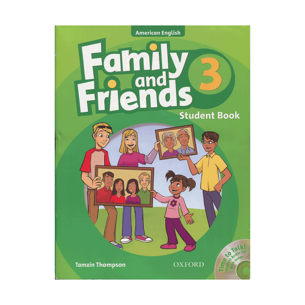 کتاب Family-and-Friends-American-English-3-Student-book