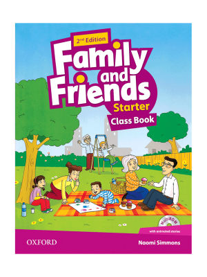 کتاب Family-and-Friends-Starter-2nd-Edition-Class-Book-