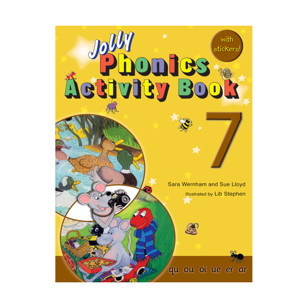 خرید کتاب Jolly-Phonics-7-Activity-Book